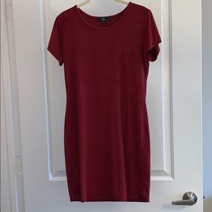 NWOT L Red Dress (Fits like a Small)